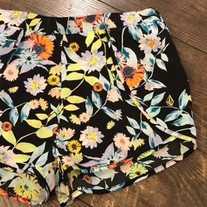 Volcom Floral Shorts